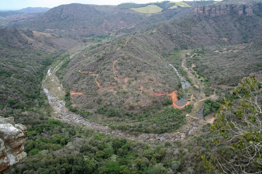 Oribi Gorge Hluhluwe Game Reserve