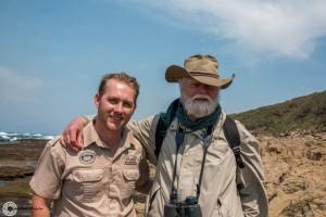 jonathan kingdon with heritage tours & safaris