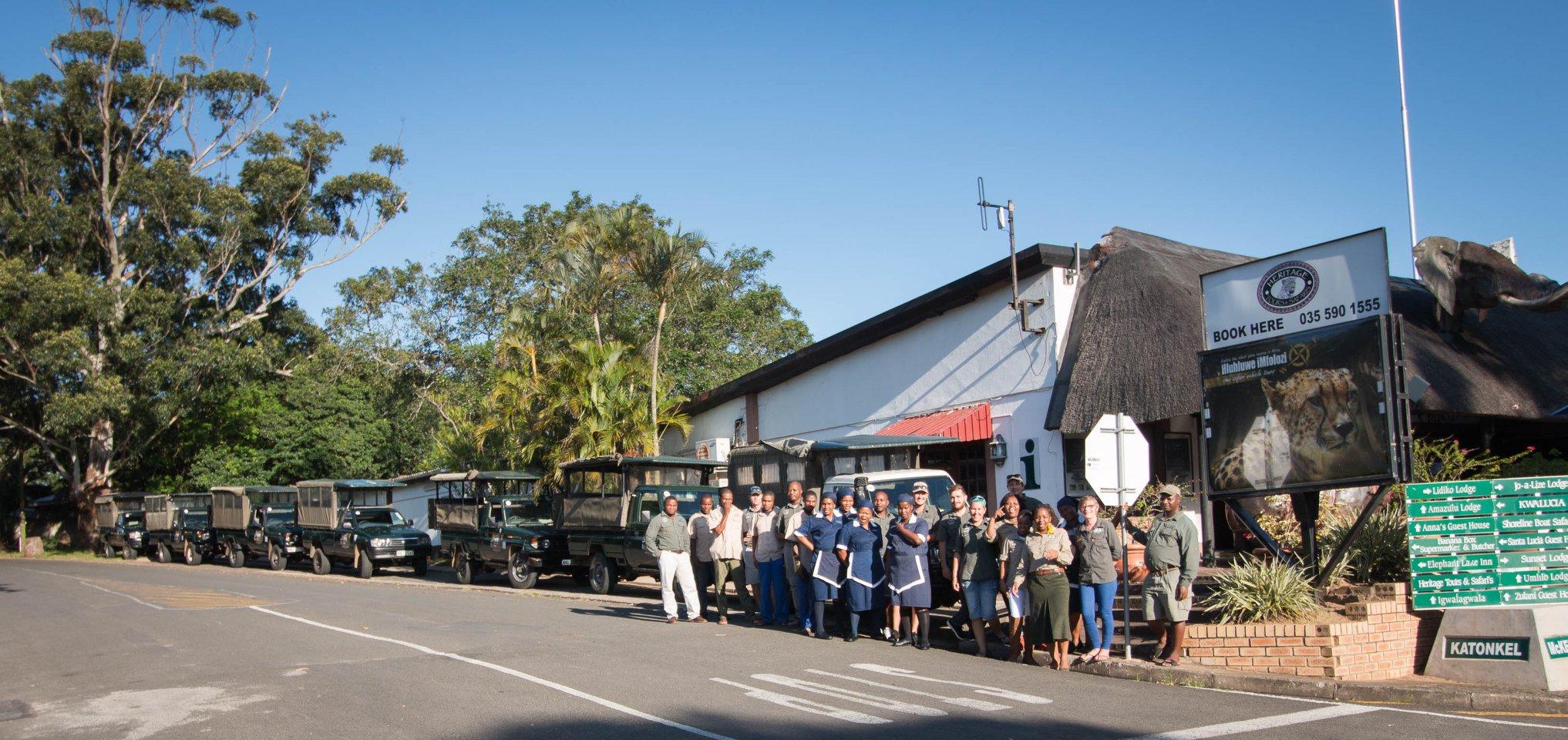 heritage tours & safaris team & fleet