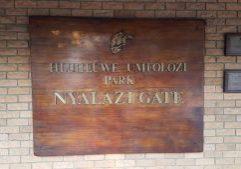Hluhluwe-Imfolozi Park Gates